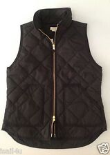 J. Crew Factory Excursion Quilted Puffer Vest Color: Black NWT Size: XXS-XXL