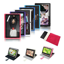 """A33 Quad Core 8GB 7""""inch Google Android 4.4 Tablet PC WiFi Dual Camera +Case NEW"""