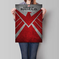 Agents of S.H.I.E.L.D. Poster TV Series Shield Symbol  A2 A3 A4