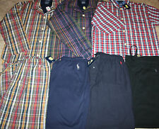 NWT Polo Ralph Lauren Pajama Lounge Pants Sleepwear & Shirts Tops M Medium