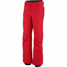 NWT Columbia Women's Arctic Trip Ski Snow Pants Red Size S, M, L XL