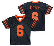 NFL Little Kids / Youth Boys Chicago Bears Jay Cutler #6 Alternate Dazzle Jersey