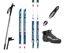 "NEW ROSSIGNOL ""XT INTENSE"" XC cross country NNN SKIS/BINDINGS/BOOTS/POLES -200cm"