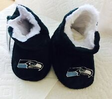 Seahawks Toddler Boot Slippers NEW - Free Shipping - Seattle Seahawks
