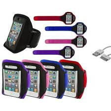 Arm Band Color Running Sports Gym+Sync Cable for iPhone 4 4G 4S 3GS S 3G 2G