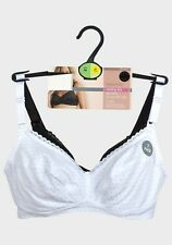 NEW M&S WOMAN 2 PACK MATERNITY NURSING BRA NON WIRED FULL CUP WITH CLIPS