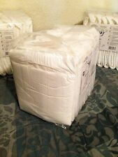 8 Diapers - Fabine Exclusive White - Medium/Large - plastic-backed - adult baby