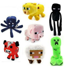 Minecraft Plush Doll Overworld Creeper Animal Soft Toy Jazwares Game Kid Gift