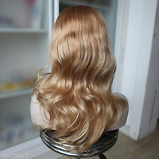 Custom European #10/10/12/22 Ombre Straight with Curls Human Hair Wigs