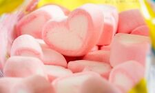 PINK LOVE HEART SHAPED MARSHMALLOWS CUPCAKES SWEET CANDY TREE WEDDING