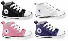 CONVERSE All Star Chuck Taylor First Star INFANT KIDS Unisex Canvas Sneakers