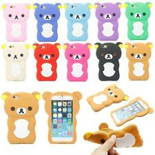 Lovely Cute 3D Cartoon Animal Bear Silicone Soft Case Cover For iPhone 6 6s 4.7""
