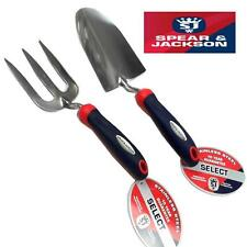 Spear & Jackson Gardeners Select Stainless Steel Hand Trowel and Fork set