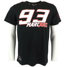Marc Marquez Large 93 Marquez Moto GP T-shirt Black Official New