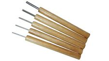 Paper Bead Rollers, Set of 5 Slotted Winding Pins