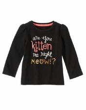 NWT Gymboree RIGHT MEOW Size 3T or 5T Black Are You Kitten Me Right Meow