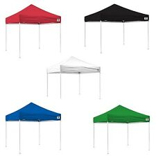 10x10 Ez Pop Up Canopy Tent Instant Beach Canopy Shelter Gazebo Roller Bag Easy