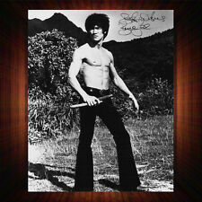 Bruce Lee - Re-Pro Signed Autographed Framed Photo/Canvas Print N2