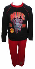 Manchester United Football Club Boy's Pyjamas Age 4-12 Years Available