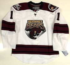 BRADEN HOLTBY HERSHEY BEARS EDGE AUTHENTIC REEBOK AHL JERSEY 7187A CAPITALS