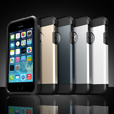 Hybrid Shockproof Hard&Soft Rugged Rubber Cover Case for iPhone 5/5S 6/6 Plus