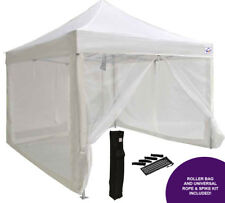 10x10 EZ Pop Up Canopy Tent Party Gazebo Mosquito Mesh Wall Screen Room Sidewall