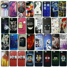Various Fashion Cute Design Pattern Hard Back Case Cover For iPhone 6 5 4S 5S 5C