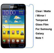 Tempered Glass/Clear/Matte Screen Protector For Samsung Galaxy Note i9220 N7000
