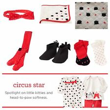 NWT Gymboree Circus Star Assorted Styles Size 0 3 6 9 12 18 24 Months Free Ship!