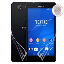 Lot Front& Back Matte Full Body Screen Protector For Sony Xperia Z3 Compact Mini