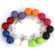 1PC Fashion Cute Round Ball Sweet Candy Color Earring Ear Stud Ear Nail Salable