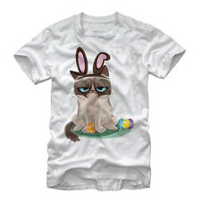 Grumpy Cat Easter Bunny Mens Graphic T Shirt - Fifth Sun