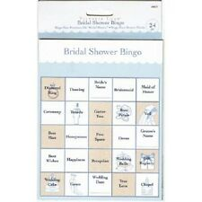 24 BINGO CARDS GAME BRIDAL SHOWER WEDDING DECORATION PARTY FUN FAVORS GAMES