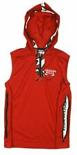 Zipway NBA Basketball Youth Chicago Bulls Dino 1/4 Zip Hooded Muscle Shirt, Red