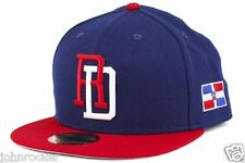 DOMINICAN REPUBLIC WORLD BASEBALL CLASSIC NEW ERA 59FIFTY FITTED HAT/CAP NWT