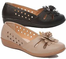 WOMENS LADIES LOAFER FLAT CASUAL COMFORT OFFICE SCHOOL TASSEL SUMMER PUMPS SHOES