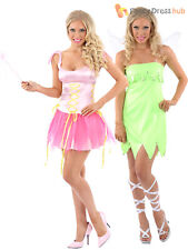 Ladies Fairy Fancy Dress Costume Sexy Tinkerbell Pixie Hen Do Party Outfit