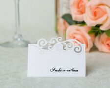 50- Place Name Cards holders,Table Decoration,For Wedding, Birthday,Dinner Party