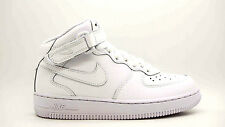 [314196-113] NIKE AIR FORCE 1 MID (PS) PRE-SCHOOL SHOES WHITE/WHITE