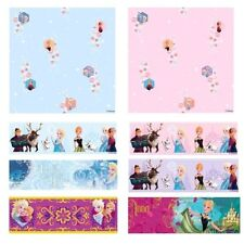 DISNEY FROZEN WALLPAPER, BORDERS AND WALL STICKERS WALL DÉCOR