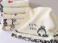 Cute 100% Cotton Washcloth Bath Towel Lovely Kids Teenagers Anime Patterns Towel