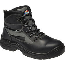 Mens Dickies Leather with Mesh Trim Severn Super Safety Boot Shoes S3