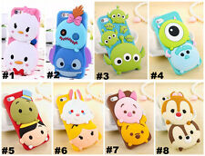 Disney 3D Cartoon Monster University Silicone Phone Cover Case For Apple/Samsung