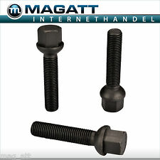 Galvanized Ball Head Black M14x1.5 Wheel Bolts R12 8 10 16 20