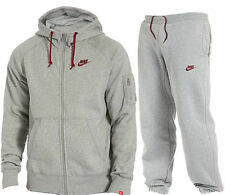 NEW MENS FLEECE NIKE FULL HOODED TRACKSUIT HOODIE JOGGERS  SIZE S-XL BNWT