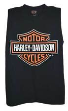 Harley-Davidson Men's Bar & Shield Logo Muscle Shirt Tank Top, Black 30296623
