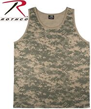 Acu Digital Camouflage Army Tactical Military Top Army Camo Tank Top 8764