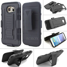 Black Future Armor Hard Stand Case Belt Clip Holster for Samsung Galaxy Series