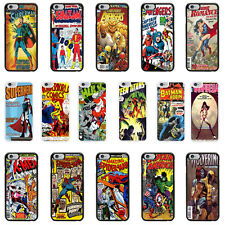 DC Marvel Comic Book Case Cover for Apple iPhone 4 4s 5 5s 6 6 Plus - 09