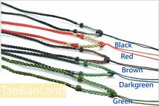 Chinese Hand Knotted Silk Pendant Cord String Necklace for Chinese Jade pendant